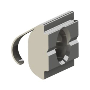 Square Nuts 30 with Spring Metal